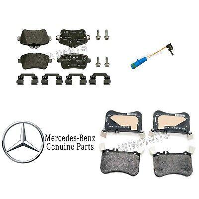 For Mercedes C117 X156 CLA45 GLA45 AMG Front /& Rear Brake Pad Sets Genuine