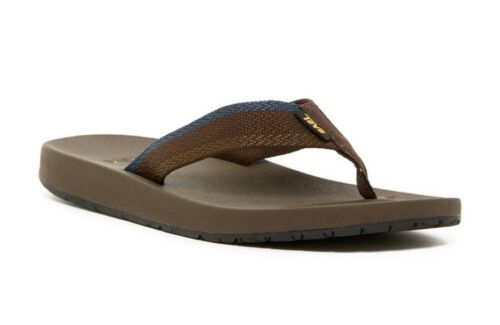 Teva Men/'s Azure Flip Flop Sandals Size 11 M Blue Feliz Brown Model # 1015125