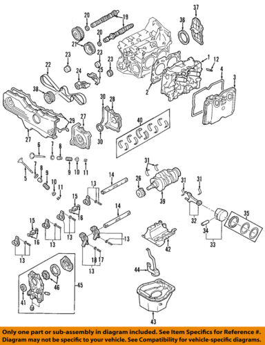 SUBARU OEM 04-14 Impreza-Engine Piston Ring 12033AB340