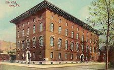 Elks Club in Erie PA Postcard