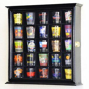 Image Is Loading 25 Shot Gl Shotgl Display Case Cabinet Holder