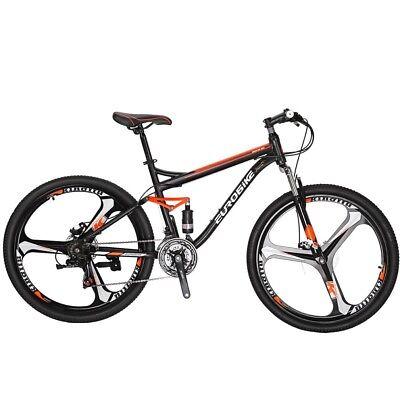 "27.5/"" Mountain Bike 21 Speeds Hybrid Bike /& Shimano Bicycles /& Suspension Front"