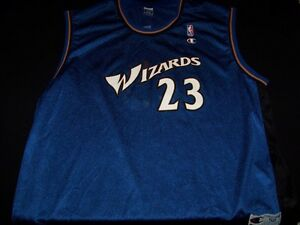 8836f20facad Image is loading Washington-Wizards-23-Michael-Jordan-Champion-NBA -basketball-