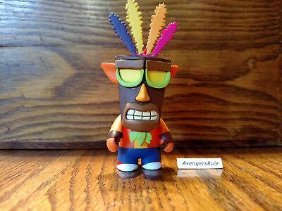 Crash Bandicoot KidRobot Vinyl Mini Series Crash /& Aku 3//24