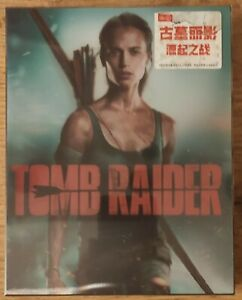 Hdzeta-Tomb-Raider-Lenticular-Steelbook-Blu-Ray-NEW-amp-SEALED
