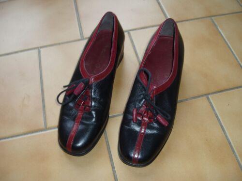 Marco All Leather 38 scatola nuova originale Shoes Praticamente Size 1rwn50q1E