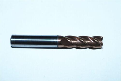DESKAR High quality HRC60° 1P 4F 8.0mm8×25×60 Solid TiALN CNC Carbide end mill