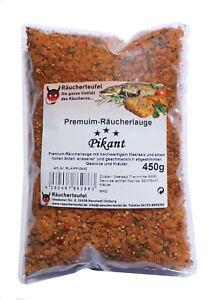 Meersalz Gewürze Premium-räucherlauge Pikant 450g räucherhaken, Fischgewürz