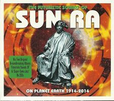 THE FUTURISTIC SOUNDS OF SUN RA - 2 CD BOX SET - ON PLANET EARTH 1914 - 2014