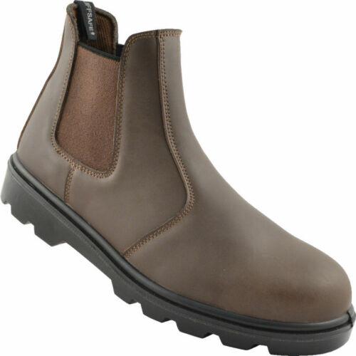 Tuffsafe seguridad botines marrón s3 src tamaño 38 tff9632504k