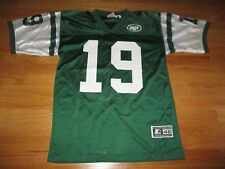 Starter KEYSHAWN JOHNSON No. 19 NEW YORK JETS (Size 46) Jersey