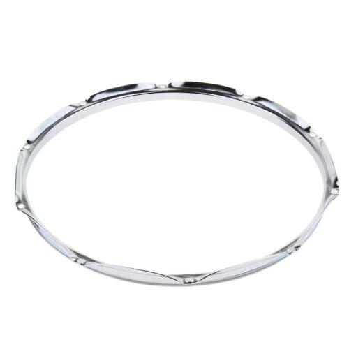 1 Paar 10 Loch Hoop Ring Rim Die Cast für 14 Zoll Snare Drum Percussion