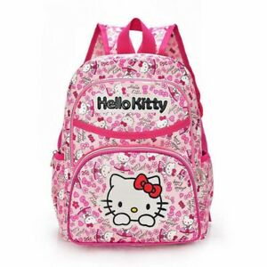 Image Is Loading Quality O Kitty Pink Rose Backpack School Book
