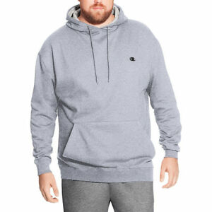 Champion Mens Big and Tall Fleece Pullover Hoodie With Mesh Lined Hood