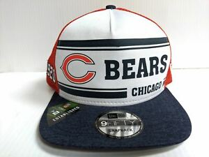 factory price skate shoes reasonable price Chicago Bears Cap New Era 9Fifty Snapback 2019 Home Sideline 1970s ...