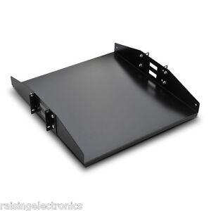 2u cantilever server shelf rack mount 19 center weighted. Black Bedroom Furniture Sets. Home Design Ideas