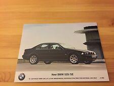 Genuine Classic Car Press Photo, BMW E39 5 Series 525i SE, 530i, 530d brochure