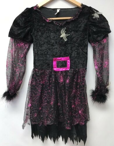 Costume USA Girls Size 8 10 Halloween Dress Black