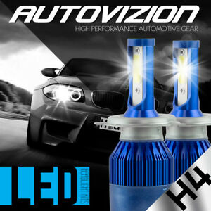 AUTOVIZION-LED-Headlight-Conversion-kit-H4-9003-6000K-1997-1999-Toyota-Tercel