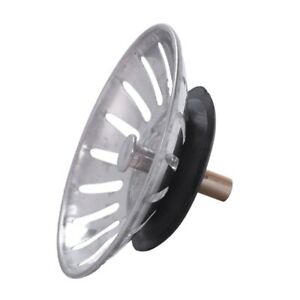 Bouchon-de-filtre-d-039-evier-de-metal-d-039-argent-8-x-3-5cm-D3T8