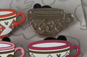 Mad-Tea-Party-Cups-2015-Hidden-Mickey-Set-DLR-Teacup-Choose-a-Disney-Pin