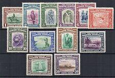 North Borneo 1939 vals to 50c MNH/MLH/MH