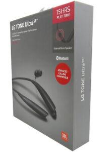 40e9e931bbf LG Tone Ultra SE HBS-835S Wireless Stereo Bluetooth Headset Black ...