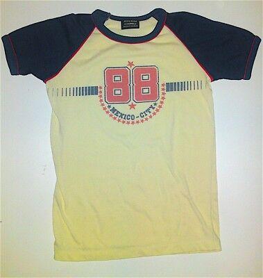 """Original 70er T-shirt """"mexico City"""" Gr.s Slim Stretch Polyester/baumwolle Schnelle WäRmeableitung"""