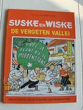 Suske en Wiske de vergeten vallei 1989