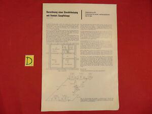 Berechnung Einer Einrohrheizung Mit Venturi-saugfittings Ca.30x21cm Sonstige Preisnachlass