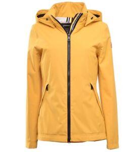 Details zu FUCHS & SCHMITT Damen Rainwear Jacke in tollem Gelb, Kapuze abnehmbar