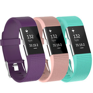 3-Pack-Replacement-Band-for-Fitbit-Charge-2-Small-Bracelet-Watch-Rate-Fitness