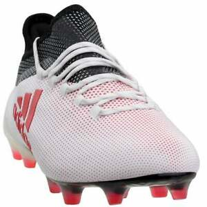 adidas-X-17-1-Firm-Ground-Casual-Soccer-Cleats-White-Mens