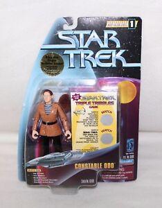 1997-Playmates-STAR-TREK-Warp-Factor-Series-1-034-CONSTABLE-ODO-034-Action-Figure-IOP