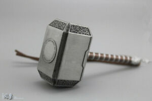 """1//6  8cm Thor hammer Weapon Props Accessories F 12/"""" Action Figure Model Toys"""