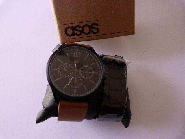 plus récent d162c 78afc Montre Asos 04141057 Coffret 2 Bracelets