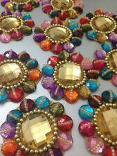 Multi Rhinestone Applique,Motif,edging,trim,sequins,beads 1 X (5.4 cm Approx)