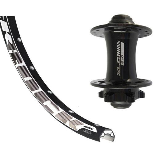 DT Swiss Front wheel 26x1.9 6l ta15 32l Rodi Black Rock DISC Niro-Spokes Black