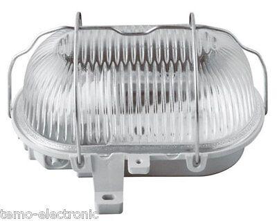 AS Schwabe Rundleuchte weiß 100 W Leuchte Wandleuchte Beleuchtung Neuware