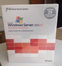 Microsoft Windows Server 2003 R2 64bit Ent. 25 CAL P72-01696