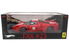HOT WHEELS L7116 ELITE FERRARI FXX ENZO # 23 1/18 RED