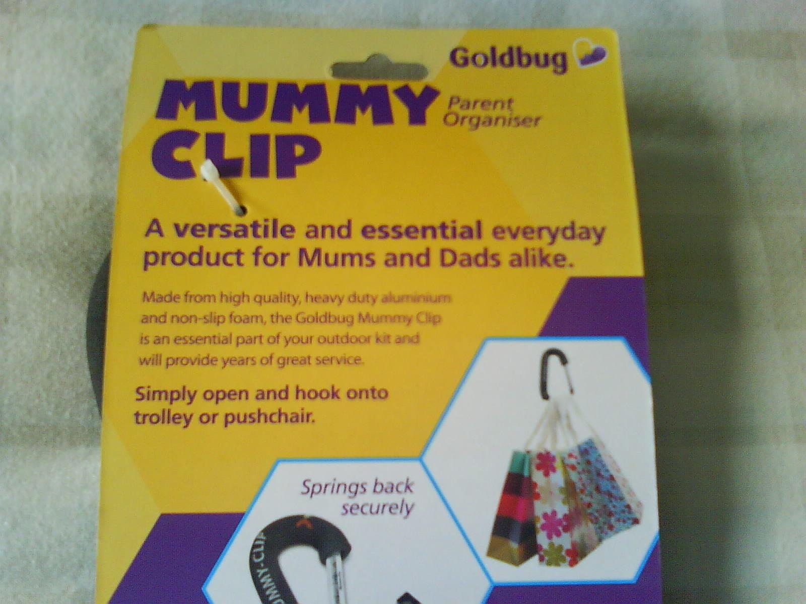 Stroller Pushchair Goldbug Mummy Clip For Baby Single Kids Pram Child