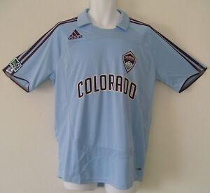 7bc09c5cc Image is loading RARE-Adidas-COLORADO-RAPIDS-Soccer-Football-shirt-Jersey-