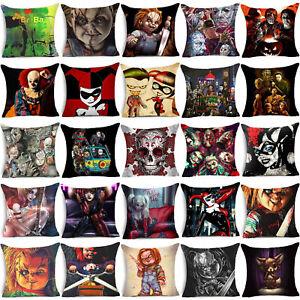 High-Cartoon-Horror-Story-Throw-Pillow-Case-Polyester-Cushion-Cover-Home-Decor