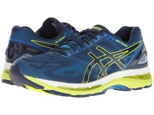 548a559382 Asics Gel Nimbus 19 Running Shoe Indigo Blue Safety Yellow Electric ...