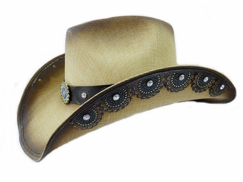 Dallas Hats Cowboyhut Strohhut Sonya 1 Gr. S - XL