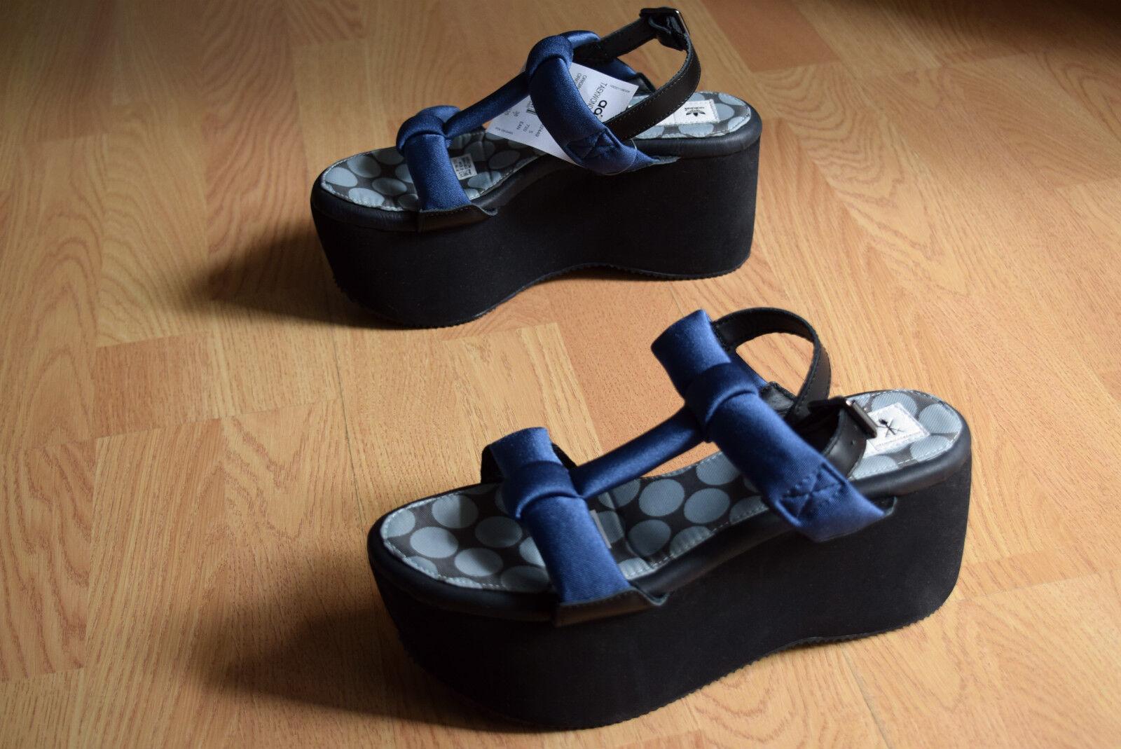 Adidas taekwondo plataforma 38 40,5 42 plataforma sandalias OC wedge up m22449