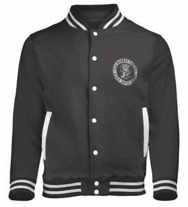 'logo' Nieuw Baseball Jacket officieel en Monkey Gas Garage Style Varsity qwOHvE