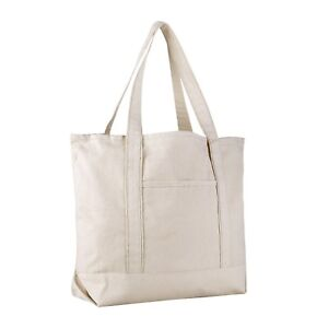 4cf23054a Extra Large Heavy Canvas Boat Tote Bag, Beach Totes, Reusable ...
