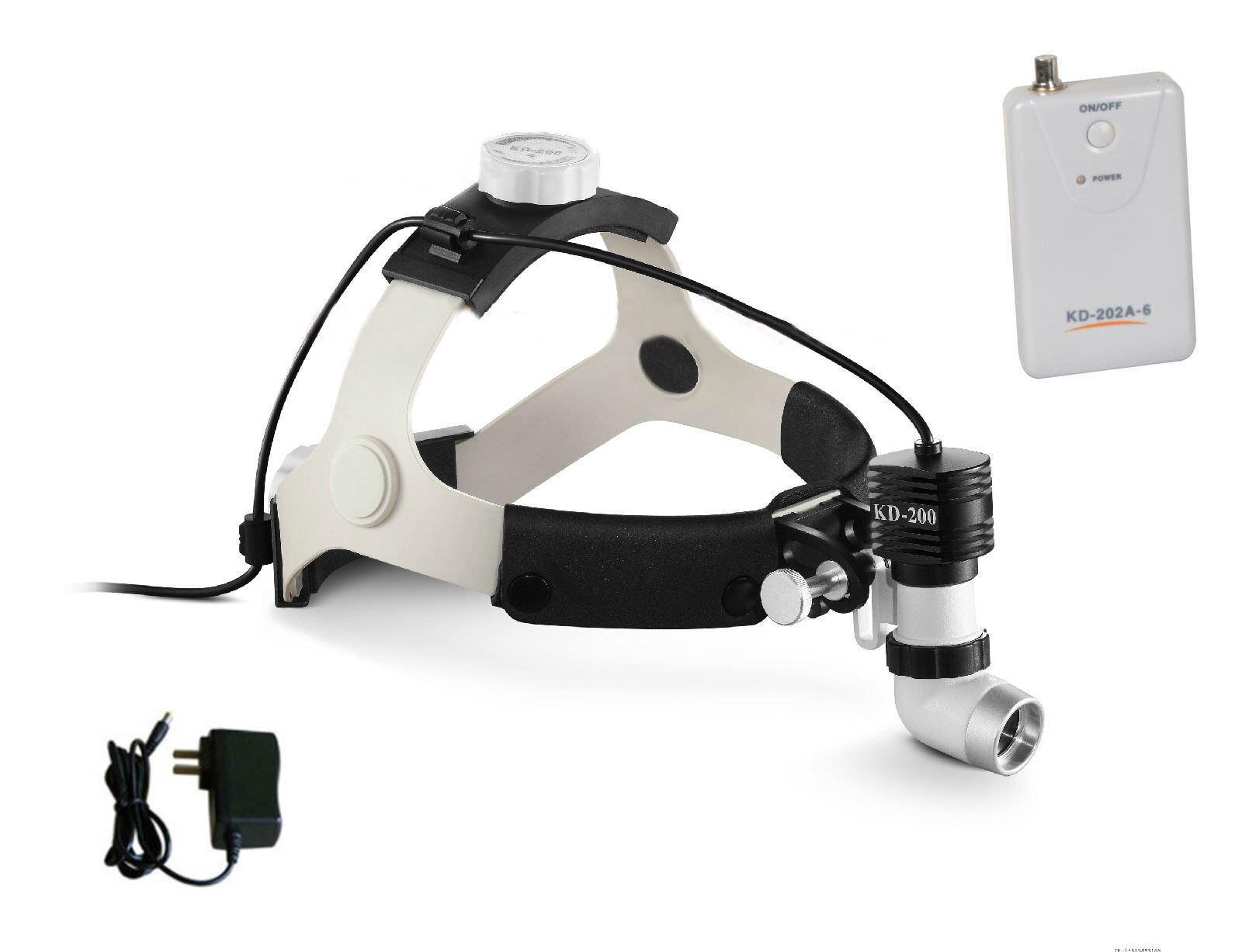 5W 6000K 80000lx LED Surgical Headlight Super-bright Medical Dental Head Lamp UK 2